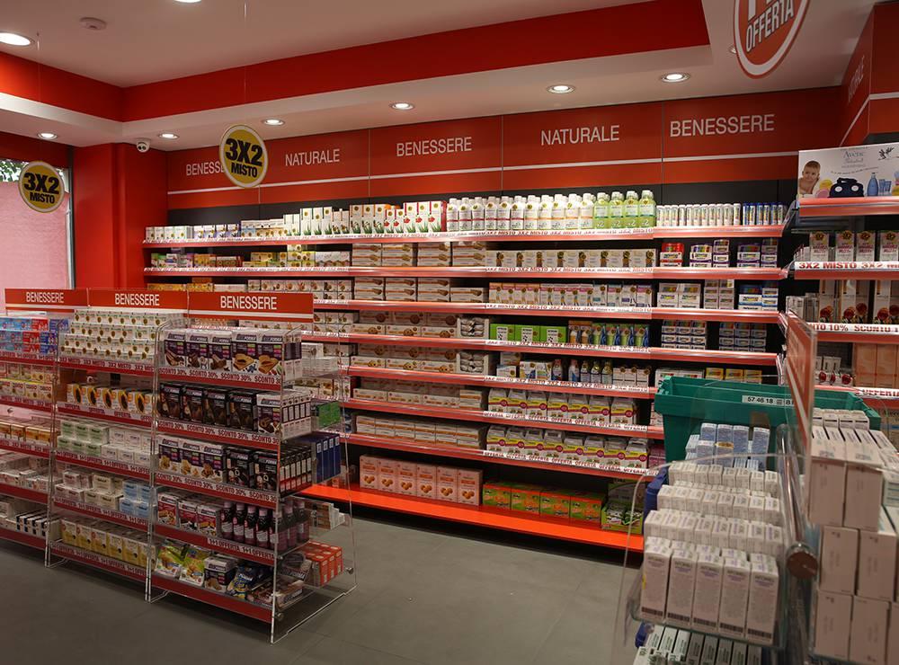 Allestimento farmacia mutec consulenza e servizi per for Consulenza arredamento